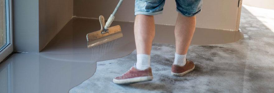 Différents types de peinture pour sol